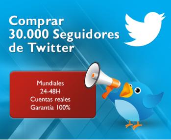 30.000 Seguidores Twitter