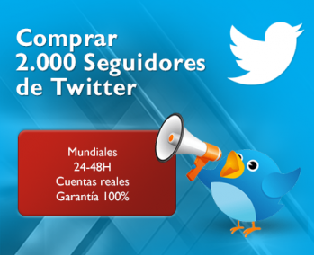 2.000 Seguidores Twitter