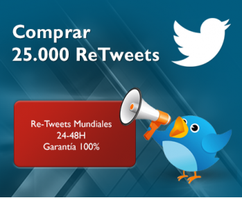 25.000 ReTweets