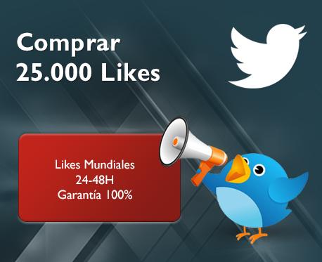 25.000 Likes