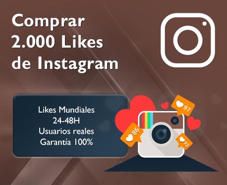 2.000 Likes de Instagram
