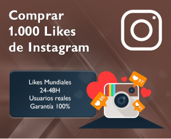 1.000 Likes de Instagram