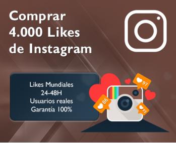4.000 Likes de Instagram