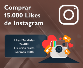 15.000 Likes de Instagram