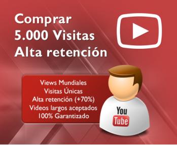 5.000 Visitas de alta retención