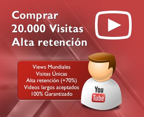 20.000 Visitas de alta retención