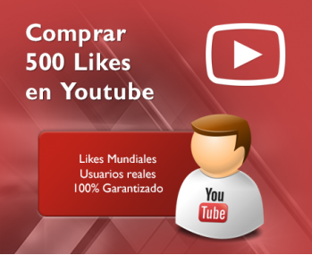 500 Likes en Youtube