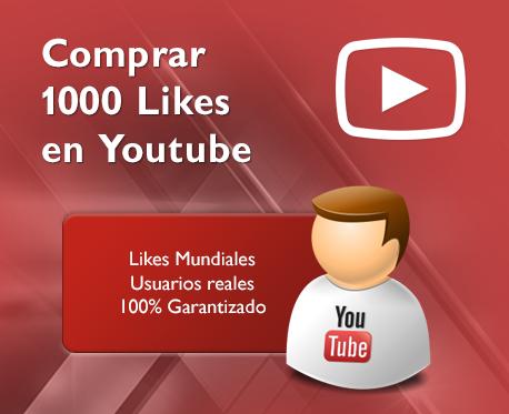 1000 Likes en Youtube