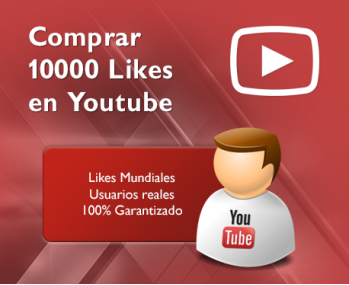 10000 Likes en Youtube