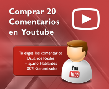 20 Comentarios en Youtube