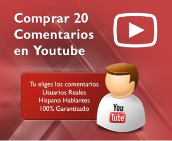 20 Comentarios en Youtube
