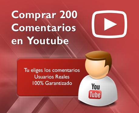 200 Comentarios en Youtube