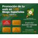 Promoción de tu web en 100 blogs