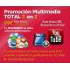 Promoción Multimedia TOTAL 3 en 1