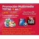 Promoción Multimedia TOTAL 4 en 1
