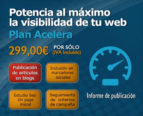 Plan de Posicionamiento Web Acelera
